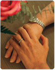 Breast Cancer Reconstruction, Patient Hands Photo - Center for Restorative Breast Surgery
