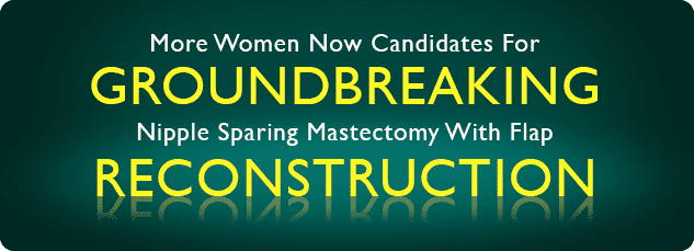 Groundbreaking Reconstruction Headline Image - Center for Restorative Breast Surgery